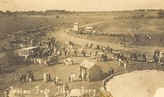 A market in Hogansburg, now part of the Akwesasne Mohawk reservation, circa 1920.  Photo courtesy Indian Time.