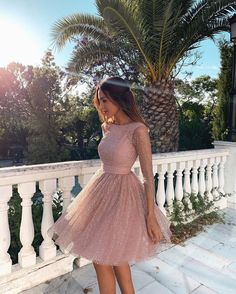 Pink Long Sleeves Short Homecoming Dresses Backless Sequin Dresses Pink Long Sleeves Short Homecoming Dresses Backless Sequin Formal Dres – Phylliscouture Source by dresses School Dresses, Hoco Dresses, Gala Dresses, Homecoming Dresses, Summer Dresses, Sexy Dresses, Sparkly Dresses, Wedding Dresses, Modest Formal Dresses