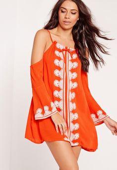 12 missguided cold shoulder dress