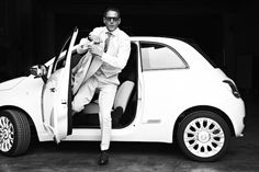 Only Lapo Can Maintain Such Swagger In a Fiat 500