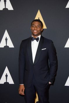 Chadwick Boseman attends the 6th Annual Governors Awards in The Ray Dolby Ballroom at Hollywood & Highland Center® in Hollywood, CA, on Saturday, November 8, 2014.  See more photos here: http://www.redcarpetreporttv.com/2014/11/10/its-official-awards-season-has-started-the-academys-2014-governors-awards-honors-harry-belafonte-maureen-ohara-hayao-miyazaki-and-jean-claude-carriere-theacademy-governorsawards-photos/