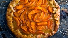 Fruit Galette by Melissa Clark  I made this with apricots.  It was pretty easy using the food processor and came out perfectly