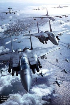 American military aircrafts