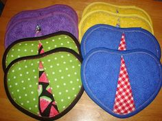 Handy Heart Potholders Pattern