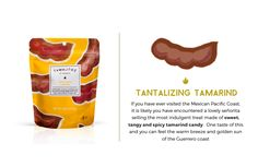Tamarind flavor candy filled with a unique blend of chili, lime, and a touch of sea salt Tamarind Candy, Holidays To Mexico, Snack Recipes, Snacks, Hard Candy, Watermelon, Spicy, Mango, Chips