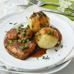 German Potato dumplings by Olaahmed.I had these in Germany years ago. They are my favorite!!