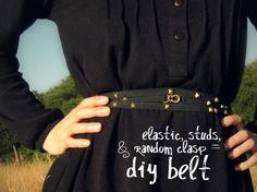 DIY Stud Belt