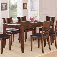 Wooden Imports LY-T Lynfield Dining Table - Home Furniture Showroom