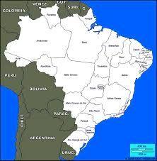 Brazilmapoutlinegif Kids Rooms Pinterest Brazil - Google map of brazil