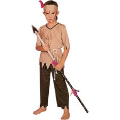 Child Indian Native Boy Costume