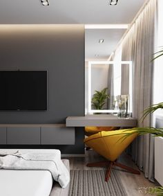 3 Modern Home Interiors Under 70 Square Metres Square Feet). Even if interior design is your vocation, it can be a challenge to work in small spaces. When an apartment has to work for a couple or even a small family witho.Moscow apartment, Russia on Behan Modern Houses Interior, Apartment Design, Apartment Interior, Modern Bedroom Design, Modern House Design, Luxurious Bedrooms, Modern Bedroom, Home Interior Design, Luxury Home Decor