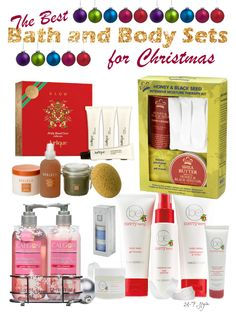 One for a Friend, One for Yourself  -  the Best Bath and Body Sets for Christmas!