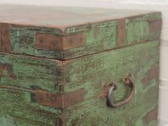 vintage teak box at scaramangashop.co.uk
