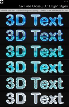 Facebook And Instagram Logo, 3d Text Effect, Layer Style, Text Effects, Lights Background, Layers, Photoshop, Neon Signs, Deviantart