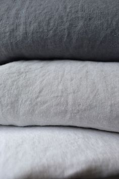 Stylish, high quality, washed linen bedding from Natural Bed Company…