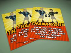 "Wild Kratts Thank You Card (4"" x 6"")"