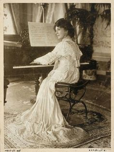 Fehime Sultan(1875–1929),  anOttoman princess, was the daughter of Ottoman Sultan Murad V(1840–1904) and his fourth wife the GeorgianMeyliservet Haseki Kadın Efendi. Receiving her education in the palace, like her father, Fehime was interested in the arts. Amongst circles her nickname was Kelebek Sultan (Butterfly Princess), because of her outlandish art and expensive clothing styles.