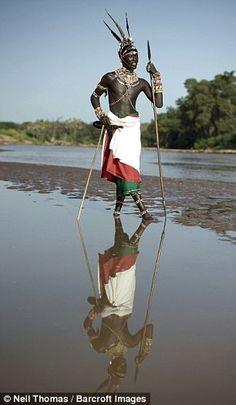 Photographer Neil Thomas said: 'Because I am born and raised in Kenya, I feel I…