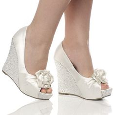 Toms Shoes OFF!>> Startling Diy Ideas: Types Of Formal Shoes cute shoes tennis.New Balance Shoes Color Combos. Silver Wedge Wedding Shoes, Wedding Wedges, Shoes 2018, Prom Shoes, Bridal Sandals, Bridal Shoes, Shoe Boots, Shoes Heels, Flats