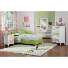 Vickie II Kids Furniture Twin Bed - Value City Furniture $249.99 ...