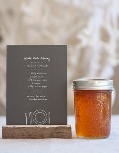 rustic catering menu