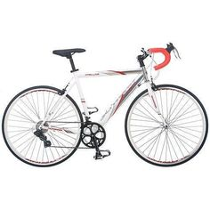 56 cm mens road bike bicycle schwinn silver white entry level 700c shimano -- You can get more details by clicking on the image.