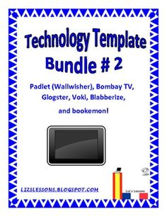 $ This document contains student instruction sheets/templates for six popular websites used in education: Glogster, Padlet (Wallwisher), Bookemon, Bombay TV, and Blabberize!