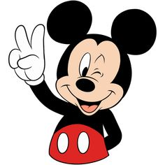 Mickey Mouse Kunst, Mickey Mouse Drawings, Mickey Mouse Pictures, Mickey Mouse Cartoon, Mickey Mouse And Friends, Disney Drawings, Mickey Mouse Clipart, Minnie Mouse, Theme Mickey