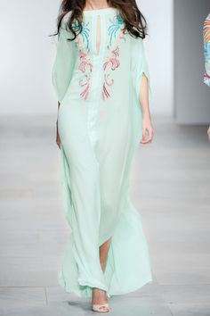 Beautiful Issa Silk-Chiffon Maxi Dress