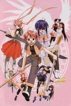 Mahou Sensei Negima HQ Manga Poster