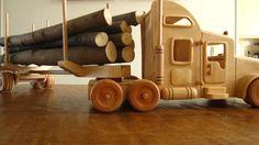 Amerikaanse Truck! boomstammenvervoer!