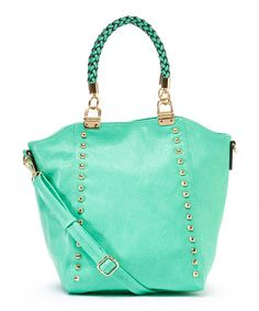 Love this Aqua Emily Tote by MKF Collection on #zulily! #zulilyfinds