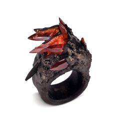 Maud Traon Precious Metal series...or a Smaug ring...I dunno, it's cool lookin'