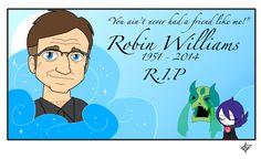 Robin Williams - R.I.P. by Dragon-FangX on deviantART