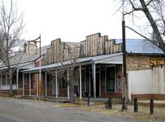 """Lincoln, New Mexico - better known as """"Billy the Kid Town"""" has not changed since Billy was around."""