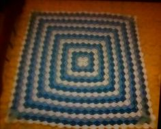CROCHETED BABY BLANKET WITH BAVARIAN STITCH Baby Blanket Crochet, Crochet Baby, Stitch, Rugs, Home Decor, Homemade Home Decor, Full Stop, Carpets, Stitches