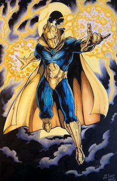 Doctor Fate by\ Mike Mez Phillips Comic Book Publishers, Comic Books Art, Comic Art, Superhero Groups, Superhero Movies, Doctor Destino, Kent Nelson, Dc Doctor, Comics