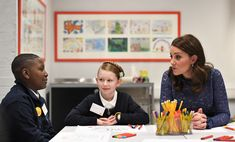 Kate Middleton Photos - Catherine, The Duchess of Cambridge speaks to pupils from Albion Primary School as she officially opens the new headquarters of children's mental health charity Place2Be on March 7, 2018 in London, England. - The Duchess Of Cambridge Opens New Place2B Headquarters