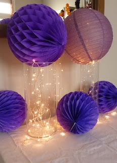 Para bodas on pinterest paper flower tutorial bead - Decoracion de navidad con globos ...