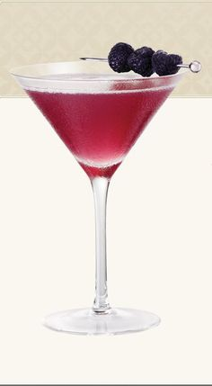 French Martini!! 1 1/2 oz Vodka 1/2 oz Chamboard 1/2 oz pineapple juice shake with ice! Garnish with raspberries or blackberries