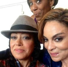 Cree Summer, Dawn Lewis, and Jasmine Guy 6/2014