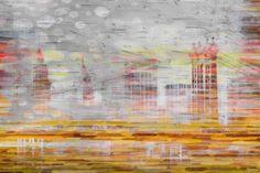 Parvez Taj Hidden Buildings Print on Canvas Art Print on Premium Canvas