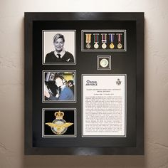 Display your #MilitaryMedals on your wall at home with our bespoke #MedalFrames to suit your individual specification, made to order to fit any number of medals – these frames make a wonderful gift or a family heirloom for the family to cherish.
