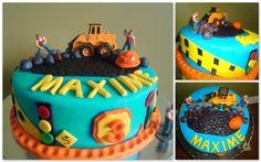 Construction Birthday Cake Pic