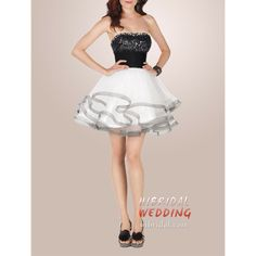 white and black short wedding dresses plus size | Cheap Black and White Sparkly Short Homecoming Dresses h2mfa3