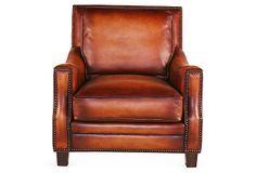Daniella Lounge Chair on OneKingsLane.com
