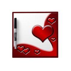 Dry Erase Board Love Hearts  http://www.zazzle.com/dry_erase_board_love_hearts-256864683703865552