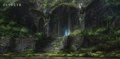Wallpapers - The Elder Scrolls Online Nature Gif, Nature Tree, High Fantasy, Fantasy World, Final Fantasy, Fantasy Inspiration, Story Inspiration, Cosplay League Of Legends, Watercolor Ocean