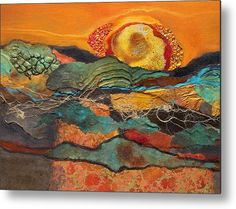 Sonoran Sunset Metal Print by Carol Nelson