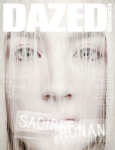 Dazed & Confused April 2013 Saoirse Ronan by Rankin Love the faded out look. The name of the magazine looks so fitting for the picture Magazine Front Cover, Fashion Magazine Cover, Fashion Cover, Magazine Covers, Fashion Tape, Women's Fashion, Magazine Design, Mise En Page Magazine, Paper Magazine